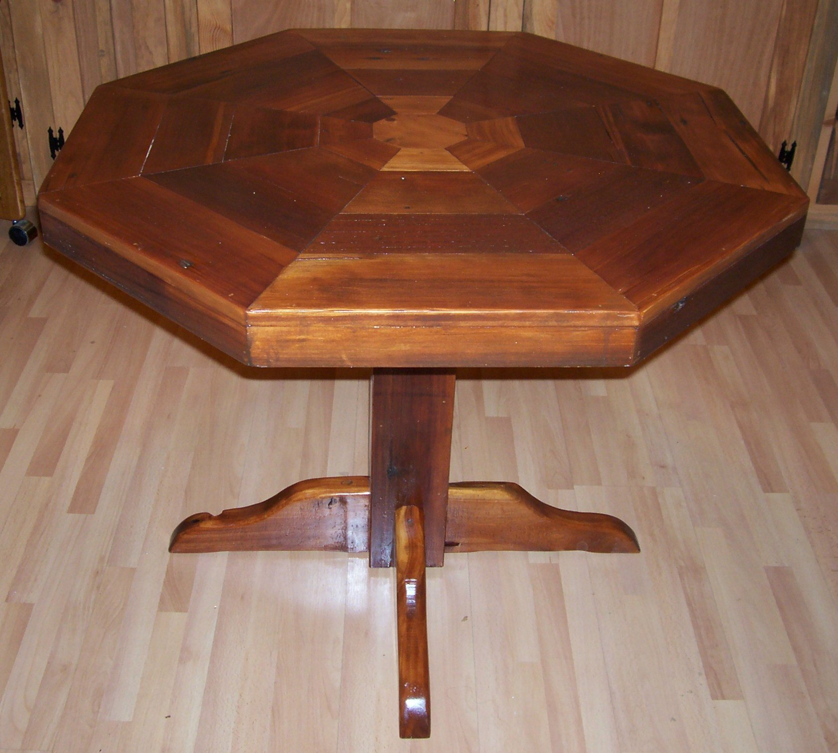 Octagon Kitchen Table
